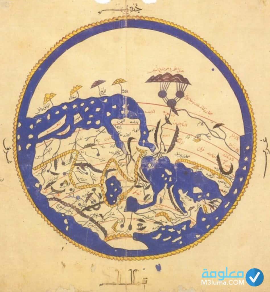 من أول من رسم خريطة العالم معلومة