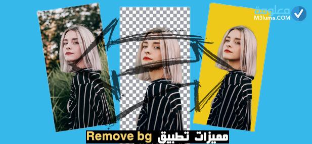 مميزات تطبيق Remove bg
