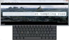 Stamina Typing Tutor | Gizmo's Freeware