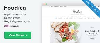 Foodica Lite - WPZOOM