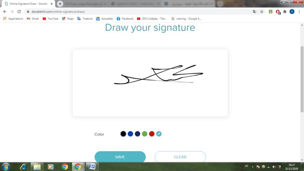 كيفية عمل توقيع خطي بإتقان 2021 معلومة