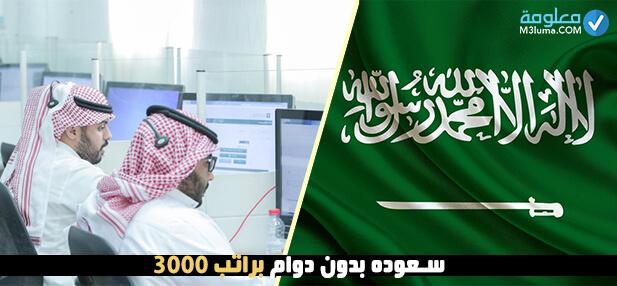 سعوده 4500 بدون دوام معلومة