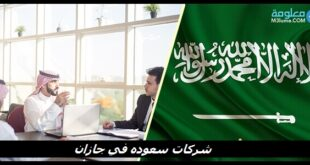 شركات سعوده في جازان